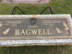 Lottie Ayscue <I>Gray</I> Bagwell