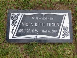 Viola Ruth <I>Schmidt</I> Tilson