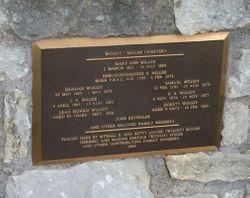 Woody Miller Cemetery