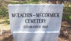 McEachin-McCormick Cemetery
