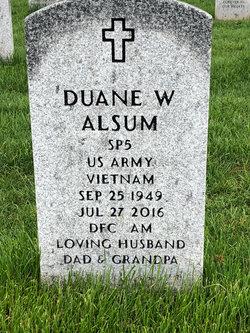 Duane William Alsum