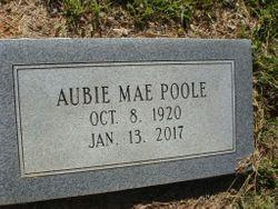 "Aubie Mae ""Tommie"" <I>Thompson</I> Poole"