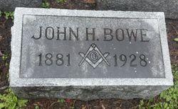 Dr John Hamilton Bowe