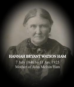 purchase cheap 9dafa 28da1 Mrs Hannah Bryant Watson Ham (1840-1925) - Find A Grave Memorial