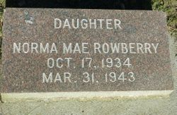 Norma Mae Rowberry