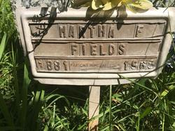 Martha Francis Fields