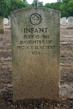 Infant Daughter Slattery