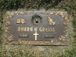 Rhuna H. Greiss