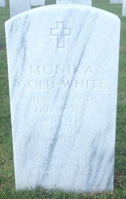 Monika <I>Gold</I> Gold-White