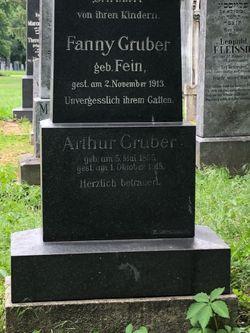 Fanny <I>Fein</I> Gruber