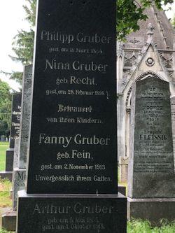 Nina <I>Recht</I> Gruber