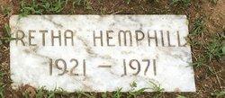 Rettie Hemphill