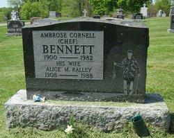 Alice Margaret <I>Ralley</I> Bennett