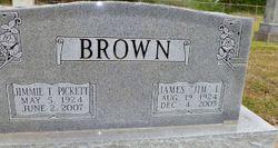 Jimmie T <I>Pickett</I> Brown