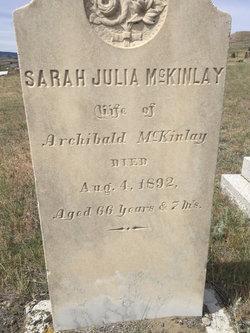 Sarah Julia <I>Ogden</I> McKinlay