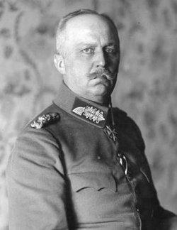 GEN Erich Friedrich Wilhelm Ludendorff