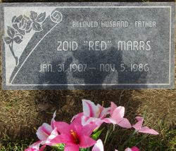 """Zoid Bartley """"Red"""" Marrs"""