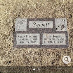 Rhean <I>Kinnersley</I> Sewell