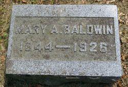 Mary A <I>Romig</I> Baldwin
