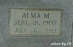 Alma M. <I>Carter</I> Travis