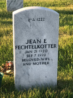 Jean Elizabeth <I>Rongstad</I> Fechtelkotter