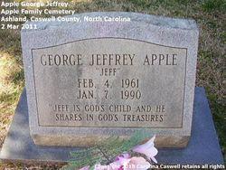 "George Jeffrey ""Jeff"" Apple"