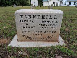 Nancy Jane <I>Dalton</I> Tannehill