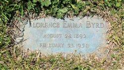 Florence Emma <I>Douglass</I> Byrd