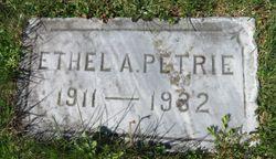 Ethel A. Petrie