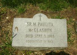 Sr M. Paulita McGlashen