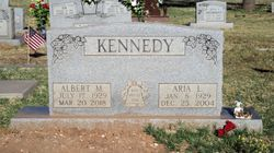 "Aria L. ""Tiny"" <I>Coppage</I> Kennedy"