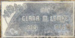 Clara May Lemke