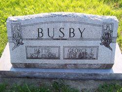 George F Busby