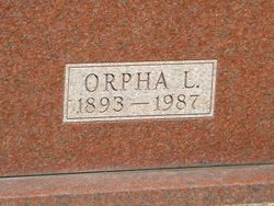 Orpha L <I>Byers</I> Timmons
