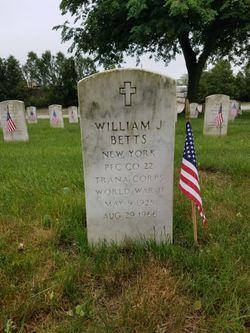 """William John """"Sonny"""" Betts"""