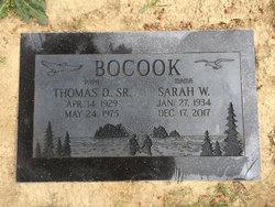 Thomas D. Bocook, Sr