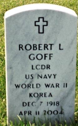 Robert L Goff, Jr