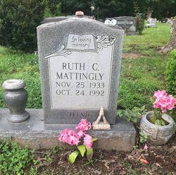 """Ruth Henrietta """"Teenie"""" <I>Camalier</I> Mattingly"""