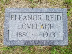 Eleanor <I>Reid</I> Lovelace