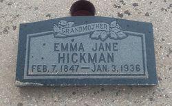 Emma <I>Hague</I> Hickman