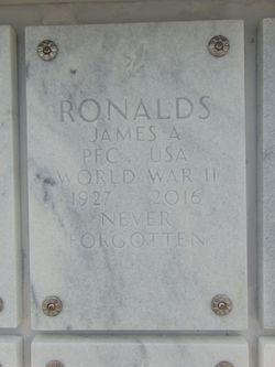 PFC James A. Ronalds