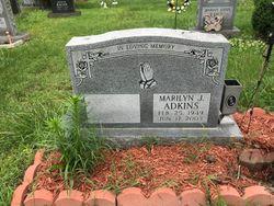 Marilyn Janet <I>Gray</I> Adkins