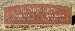 Arta Edith <I>Earles</I> Wofford