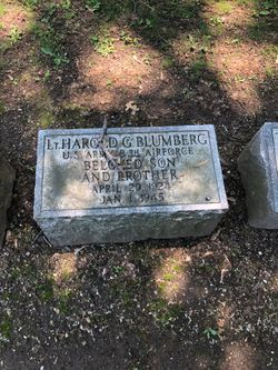 2LT Harold G Blumberg