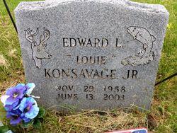 "Edward L ""Louie"" Konsavage, Jr"