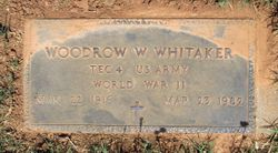 Woodrow Wilson Whitaker