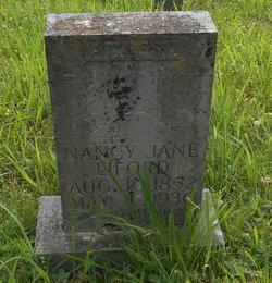 Nancy Jane <I>Munsey</I> Liford
