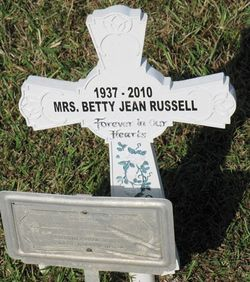 Betty Jean <I>Pool</I> Russell