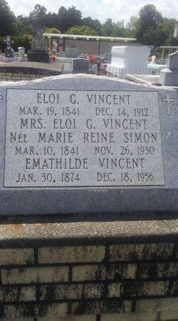 Marie Reine <I>Simon</I> Vincent