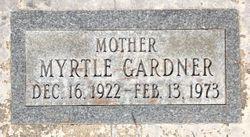 Myrtle L <I>Gardner</I> Irving